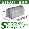 Stahlstruktur Gewächshaus COMPACT