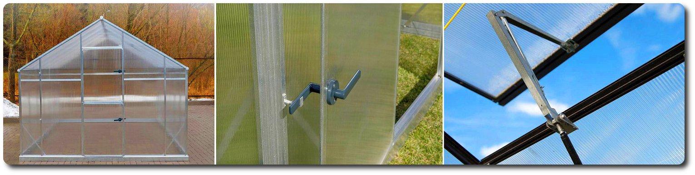 serra tunnel policarbonato casetta