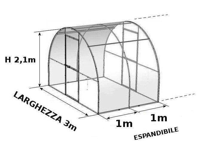 schema serra policarbonato VolcaN